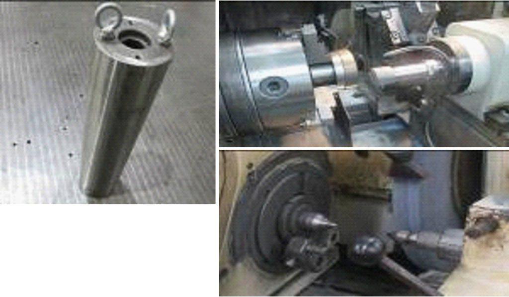 円筒研磨においてミクロン単位の高精度加工が可能
