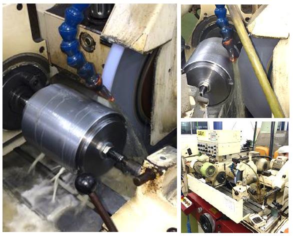 円筒研磨機による高精度加工事例