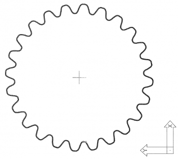 歯車の図面化⇒製作